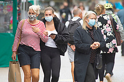 ©Licensed to London News Pictures 24/09/2020  <br /> Bromley, UK. Shoppers in Bromley High Street, Bromley, South East London wearing protective masks today to help protect themselves and others from the threat of Coronavirus. Photo credit:Grant Falvey/LNP