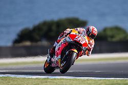 October 25, 2018 - Phillip Island, Australie - MARC MARQUEZ - SPANISH - REPSOL HONDA TEAM - HONDA (Credit Image: © Panoramic via ZUMA Press)