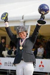 Bijlsma Maaike (NED)<br /> World Championship Young Horses Lanaken 2008<br /> Photo Copyright Hippo Foto