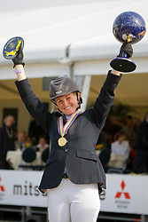 Bijlsma Maaike (NED)<br /> World Championship Young Horses Lanaken 2008<br /> Photo Copyright Hippo Foto