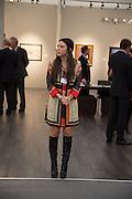 VIP Opening of Frieze Masters. Regents Park, London. 9 October 2012