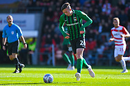 Jordan Shipley of Coventry City (26) passes the ball during the EFL Sky Bet League 1 match between Doncaster Rovers and Coventry City at the Keepmoat Stadium, Doncaster, England on 4 May 2019.