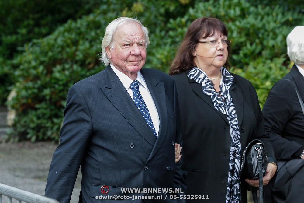 NLD/Leusden/20120920- Uitvaart Joop van Tellingen, Andriaan van Toor en partner