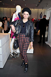 PIXIE GELDOF at a party to celebrate the launch of the Matthew Williamson collection at H&M held at the H&M store, Regent Street, London on 22nd April 2009.