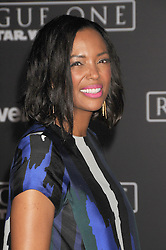 December 10, 2016 - Los Angeles, CA, United States of America - Aisha Tyler arriving at the Star Wars ''Rogue One'' World Premiere at the Pantages Theater on December 10 2016 in Hollywood, CA  (Credit Image: © Famous/Ace Pictures via ZUMA Press)