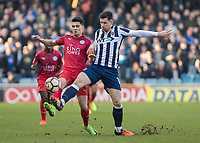 Football - 2016 / 2017 FA Cup - Fifth Round: Millwall vs. Leicester City <br /> <br /> at The Den<br /> <br /> COLORSPORT/DANIEL BEARHAM