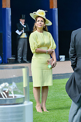 Princess Haya of Jordan at The Investec Derby, Epsom, Surrey England. 3 June 2017.<br /> Photo by Dominic O'Neill/SilverHub 0203 174 1069 sales@silverhubmedia.com
