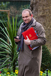 Downing Street, London, January 27th 2015. Ministers attend the weekly cabinet meeting at Downing Street. PICTURED: Edward Davey <br /> Secretary of State for Energy and Climate Change