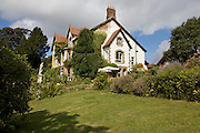 View of the house from the side garden at The Old Rectory, Chumleigh, Devon CREDIT: Vanessa Berberian for The Wall Street Journal<br /> LUXRENT-Nanassy/Chulmleigh