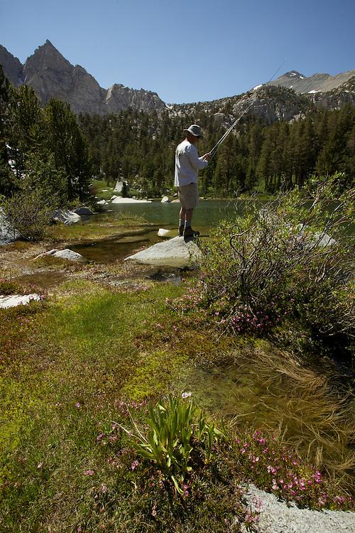 Camping at Flower Lake
