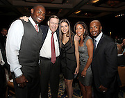 ATLANTA, GA - MAY 14:  Philadelphia Philles first baseman Ryan Howard, MLB Commissioner Bud Selig, Howard's fiancee Krystal Campbell, Johari Rollins and Jimmy Rollins meet at the MLB Beacon Awards Banquet at the Omni Hotel on May 14, 2011 in Atlanta, Georgia.  (Photo by Mike Zarrilli/Getty Images)