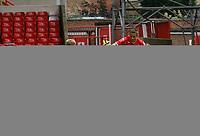Photo: Steve Bond/Richard Lane Photography.<br />Nottingham Forest v Watford. Coca-Cola Football League Championship. 23/08/2008. Chris Cohen (R) shoots but keeper Mart Poom saves