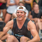 Ian Seymour  Mens relay Race #26  03:30pm<br /> <br /> www.rowingcelebration.com Competing on Concept 2 ergometers at the 2018 NZ Indoor Rowing Championships. Avanti Drome, Cambridge,  Saturday 24 November 2018 © Copyright photo Steve McArthur / @RowingCelebration