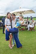 MELISSA MILLS; MARISSA HERMER, Cartier Queen's Cup. Guards Polo Club, Windsor Great Park. 17 June 2012