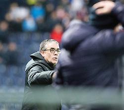 Ayr United's manager Ian McCall. Falkirk 1 v 1 Ayr United, Scottish Championship game played 14/1/2017at The Falkirk Stadium .