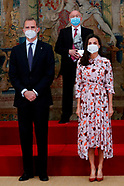 051721 Spanish Royals attend delivery of the 2020 National Research Awards