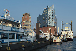 September 1, 2017 - Hamburg, Germany - Elbphilharmonie Elphi is a concert hall in Hamburg, Germany. Construction was completed on October 31, 2016 by the Swiss architecture firm Herzog & de Meuron. September 1, 2017  (Credit Image: © Oscar Gonzalez/NurPhoto via ZUMA Press)