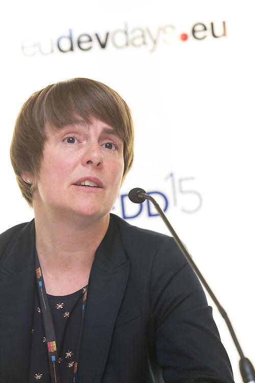 03 June 2015 - Belgium - Brussels - European Development Days - EDD - Health - Pills , pricing and profitability - Corinna Heineke , Head of Global Project Access to Medicines , Deutsche Gesellschaft Fur Internationale Zusammenarbeit (GIZ) © European Union