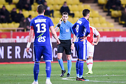 January 19, 2019 - Monaco, France - FRANCOIS LETEXIER (ARBITRE) - VAR - ARBITRAGE VIDEO (Credit Image: © Panoramic via ZUMA Press)