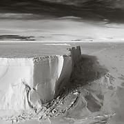 100 ft (30M) high side of Tabular Iceberg