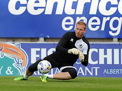 Steve Mildenhall of Bristol Rovers warms up - Mandatory byline: Neil Brookman/JMP - 07966 386802 - 03/10/2015 - FOOTBALL - Globe Arena - Morecambe, England - Morecambe FC v Bristol Rovers - Sky Bet League Two