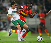 v.l. Guillermo Franco Mexiko, Mantorras<br />