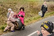 Affaldsindsamling 2017. Naturbørnehaven Ajstrup Gl. Skole.