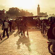 Djemaa el Fna square, Marrakech, Morocco (November 2006)