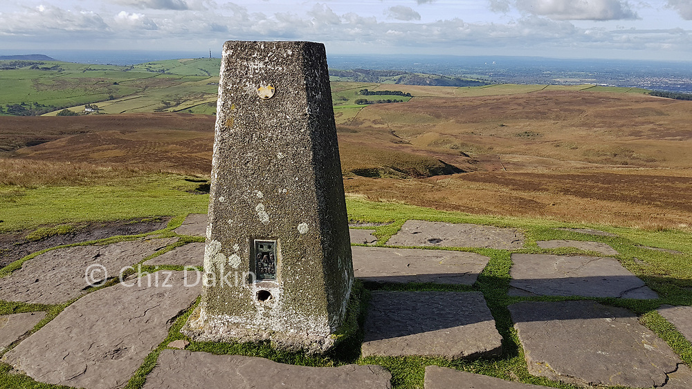 Trigpoint at the summit