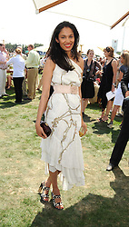 SOLONI LODHA at the Cartier International Polo at Guards Polo Club, Windsor Great Park on 27th July 2008.<br /> <br /> NON EXCLUSIVE - WORLD RIGHTS