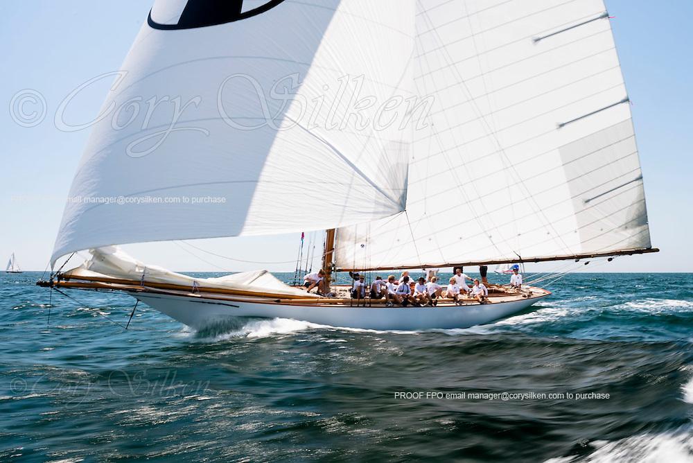 Marilee sailing in the Nantucket Opera House Cup regatta.