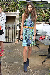 SARAH ANN MACKLIN at a party to celebrate 'A Year In The Garden' celebrating the first year of The Ivy Chelsea Garden, 197 King's Road, London on 16th May 2016.