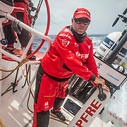 Leg 8 from Itajai to Newport, day 10 on board MAPFRE, Rob Greenhalgh. 01 May, 2018.