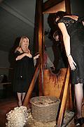 Lindsay de Paul, ' Show Off' Theo Fennell exhibition co-hosted wit Vanity Fair. Royal Academy. Burlington Gdns. London. 27 September 2007. -DO NOT ARCHIVE-© Copyright Photograph by Dafydd Jones. 248 Clapham Rd. London SW9 0PZ. Tel 0207 820 0771. www.dafjones.com.