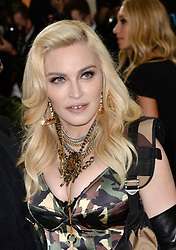 Madonna attending The Metropolitan Museum of Art Costume Institute Benefit Gala 2017, in New York, USA. PRESS ASSOCIATION Photo. Picture date: Monday 1st May, 2017. See PA Story SHOWBIZ Gala. Photo credit should read: Aurore Marechal/PA Wire