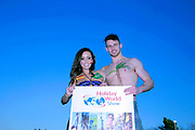 NO FEE PICTURES<br /> 22/1/15 Models Haley and Seth are going global in advance of the annual Holiday World Show Dublin opening this Friday 23rd January, the show continues until Sunday 25th in the RDS Simmonscourt.<br />  For more information visit: www.holidayworldshow.com<br />  Picture:Arthur Carron