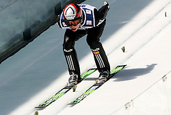Jernej Damjan (SLO) at Flying Hill Individual in 4th day of 32nd World Cup Competition of FIS World Cup Ski Jumping Final in Planica, Slovenia, on March 22, 2009. (Photo by Vid Ponikvar / Sportida)