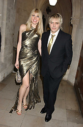 MEREDITH OSTROM and NICK RHODES at Andy & Patti Wong's annual Chinese New Year party, this year celebrating the year of the dog held at The Royal Courts of Justice, The Strand, London WC2 on 28th January 2006.<br /><br />NON EXCLUSIVE - WORLD RIGHTS