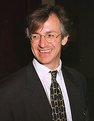 MR RICHARD ADDIS former editor of The Express, at a reception in London on 20th April 1999.MRF 37