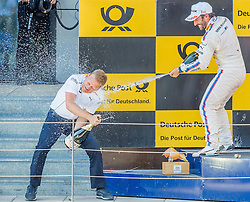22.05.2016, Red Bull Ring, Spielberg, AUT, DTM Red Bull Ring, Rennen, im Bild 1. Platz Timo Glock (GER, BMW M4 DTM) // during the DTM Championships 2016 at the Red Bull Ring in Spielberg, Austria, 2016/05/22, EXPA Pictures © 2016, PhotoCredit: EXPA/ Dominik Angerer