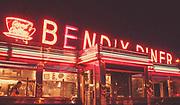 Retro America - 1960's life. Bendix diner Rt. 46 Hasbrouck Heights, NJ