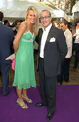 PAUL McKENNA and CLARE STAPLES at theThe Summer Ball in Berkeley Square , Londin W1 in aid of the Prince's Trust on 6th July 2006.<br /><br />NON EXCLUSIVE - WORLD RIGHTS