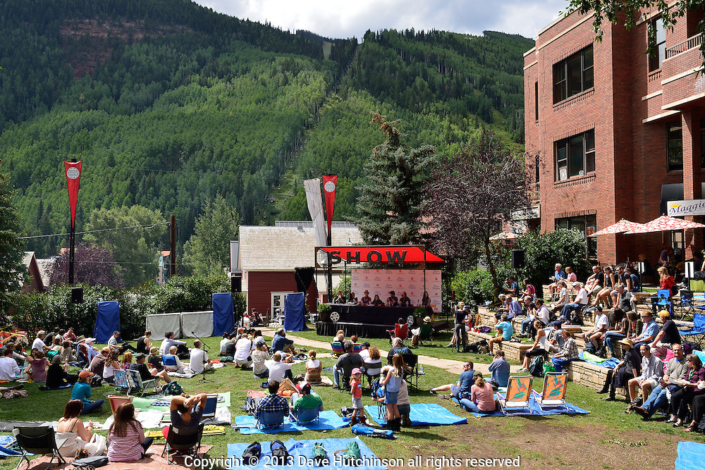 The Telluride Film Festival held over Labor Day weekend is known for its film programming and production excellence.  It is consistently ranked as one of the top film festivals in the world.
