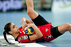 Andrea Penezic of Krim during handball match between RK Krim Mercator and Larvik HK (NOR) of Women's EHF Champions League 2011/2012, on November 13, 2011 in Arena Stozice, Ljubljana, Slovenia. (Photo By Vid Ponikvar / Sportida.com)