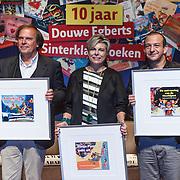 NLD/Amsterdam/20131112 - Presentatie DE Sinterklaasboeken, Ivo Niehe, prinses Laurentien en Najib Amhali