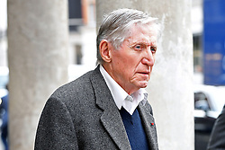 Photographer Don McCullin arriving at the Grosvenor Chapel in London's Mayfair for a memorial service to commemorate the life of Raine Spencer, the stepmother of Diana, Princess of Wales, who died last month aged 87 after a short illness.