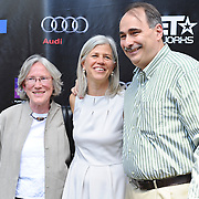 Susan and David Axelrod with guest