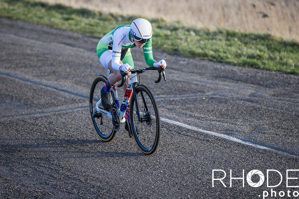 Alice Barnes (GBR/Canyon SRAM)<br /> <br /> Healthy Ageing Tour (NED) 2021<br /> UCI Women Elite 2.1<br /> Stage 2 : Individual Time Trial (ITT) – Lauwersoog – Het Hoogeland 14.4km<br /> <br /> ©RhodePhoto