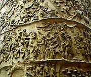 1864 reproduction made from a plaster cast of Trajan's Column in Rome. The column was erected to commemorate the campaigns of the Emperor Trajan against the Dacians on the Danube frontier in AD 101-2 and 105-6