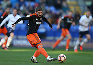 Kieron Freeman of Sheffield Utd during the FA Cup Second round match at the Macron Stadium, Bolton. Picture date: December 4th, 2016. Pic Simon Bellis/Sportimage